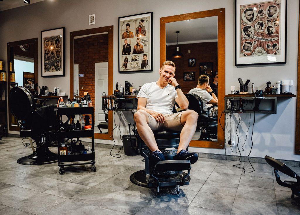 fryzjer pan młody