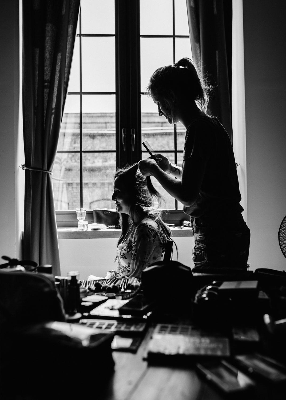 ślub w żyrardowie, para młoda, przygotowania w hotelu