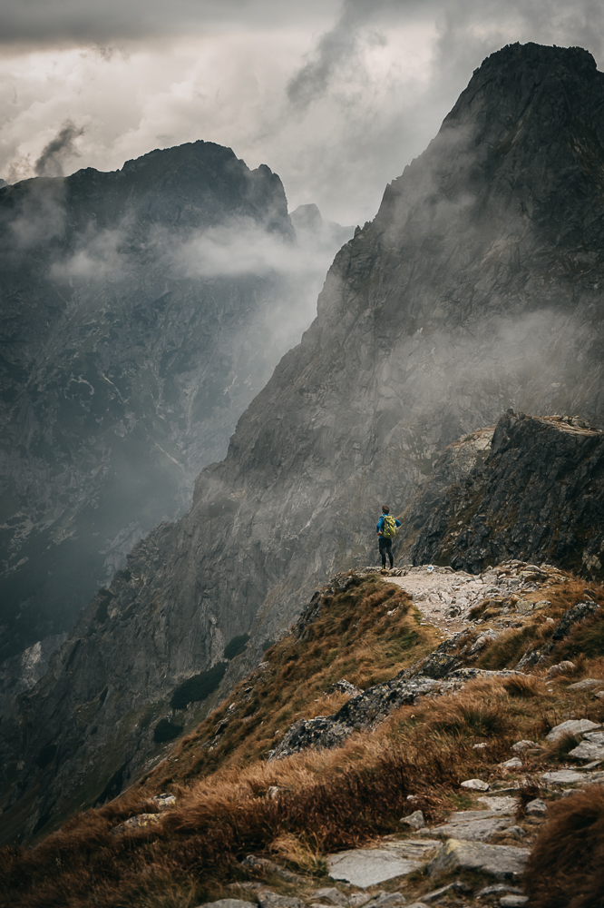 góry, sesja w górach, tatry