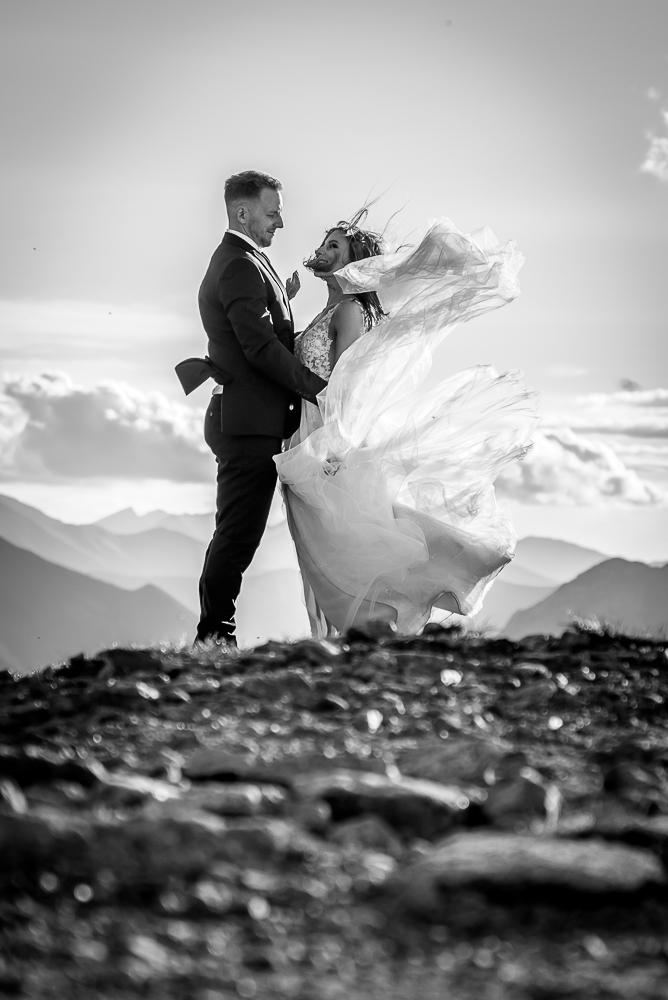 plenerowa sesja ślubna w górach