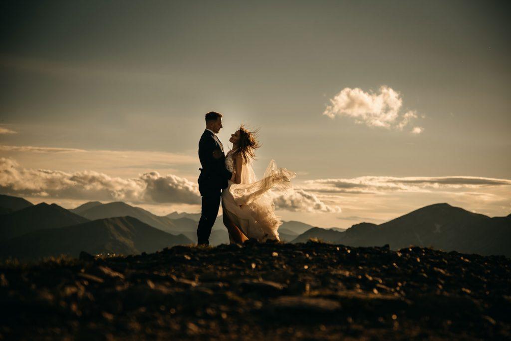 plener ślubny w Tatrach - Kasprowy Wierch